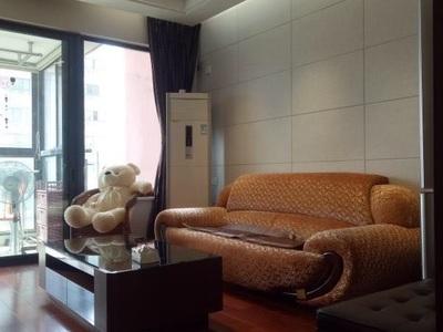 甲江南电梯商品房高端小区7楼90平二室二厅精装拎包即住4万/年